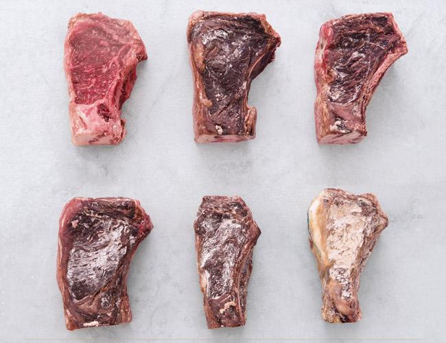 Frollatura a secco della carne
