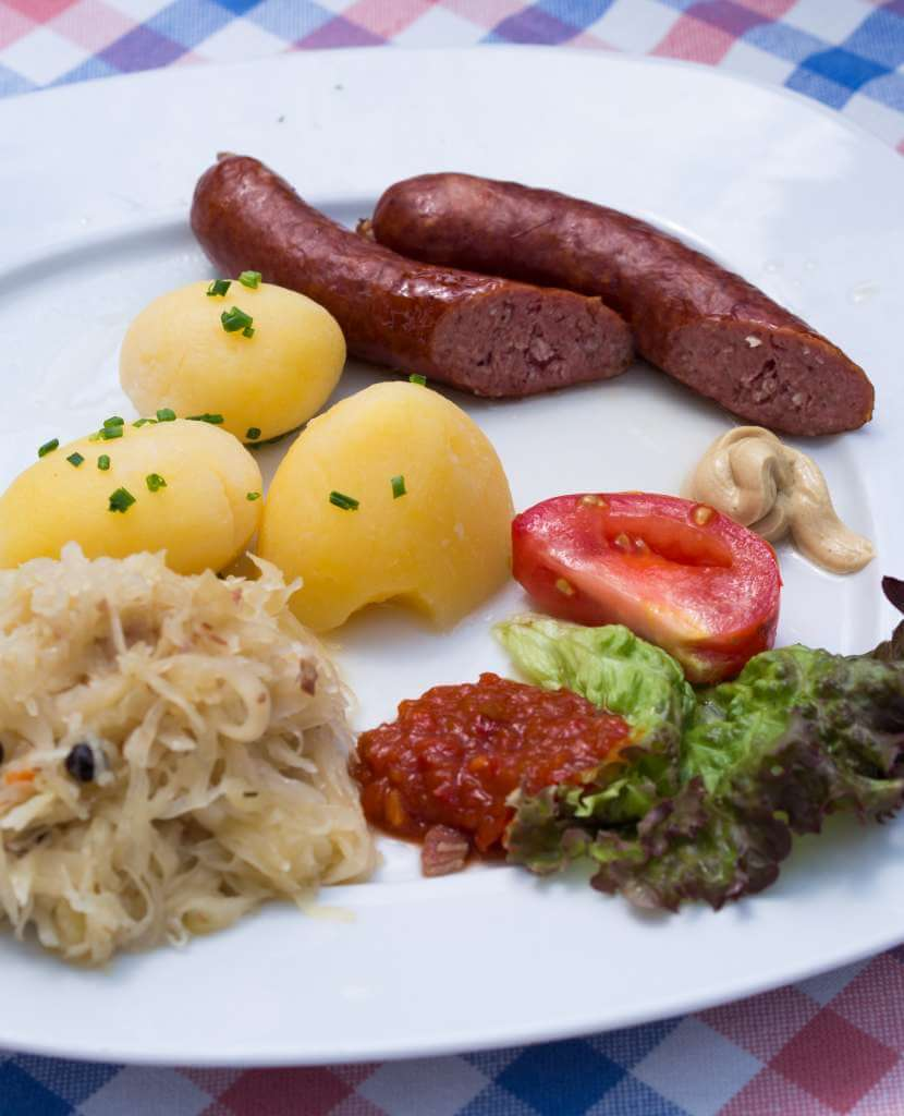salsicce Hirschwrst