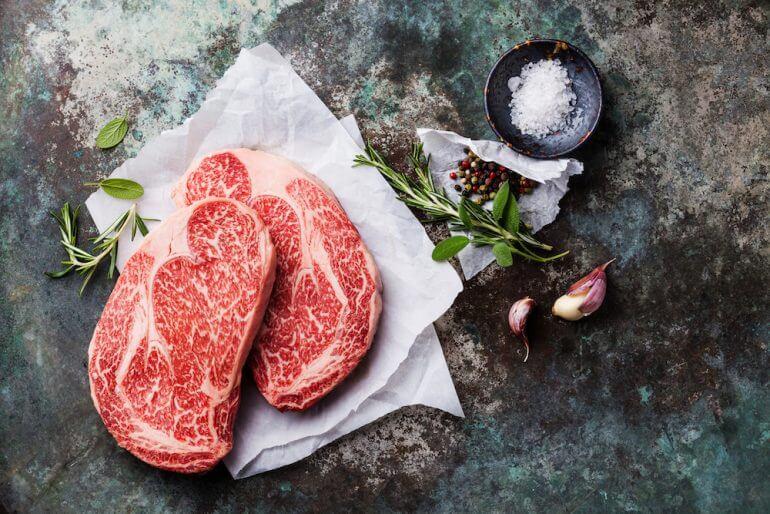 Marezzatura della carne