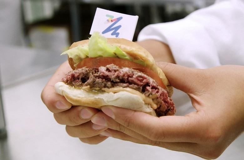 Hamburger di finta carne