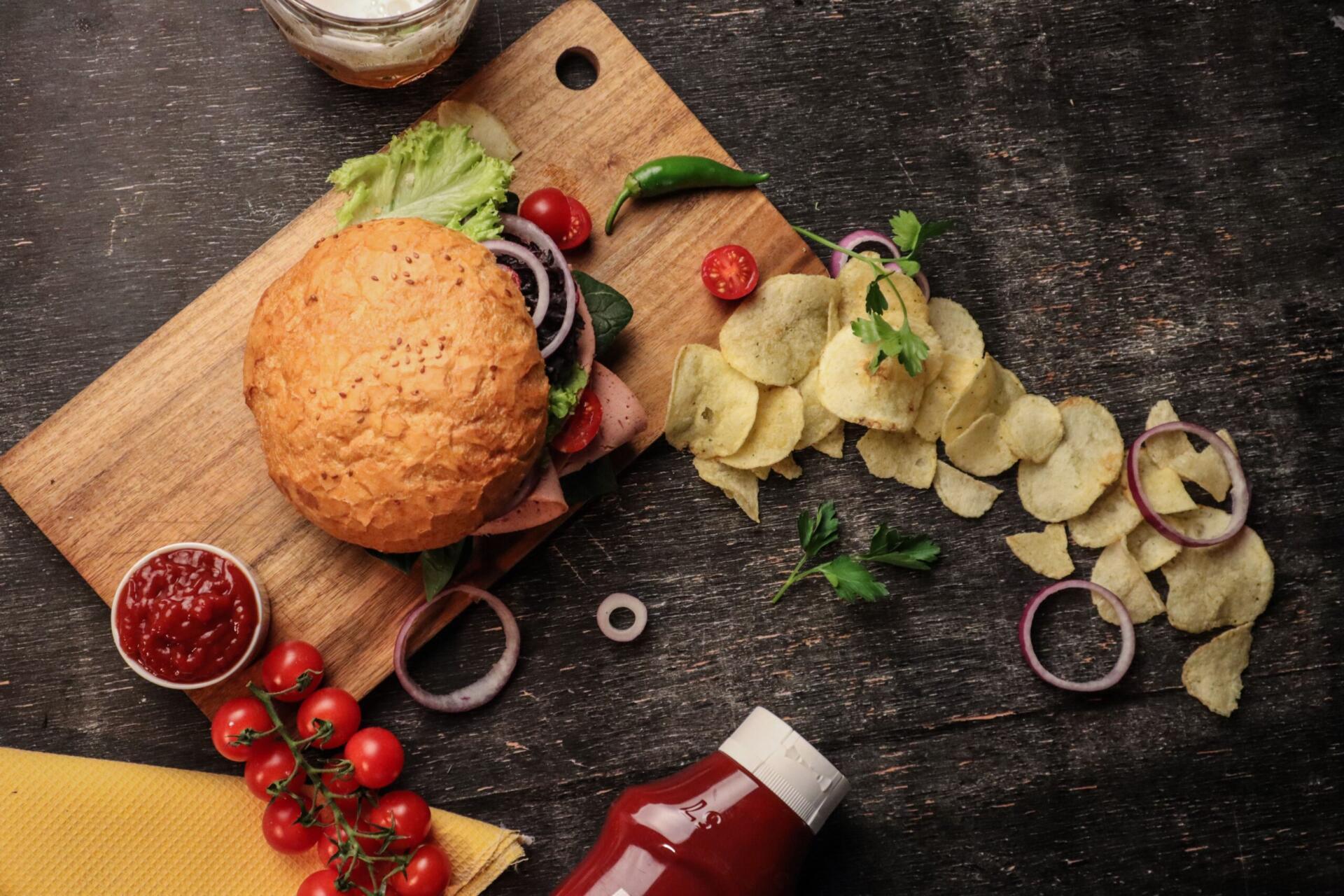 meat sounding : l'hamburger è uno degli esempi