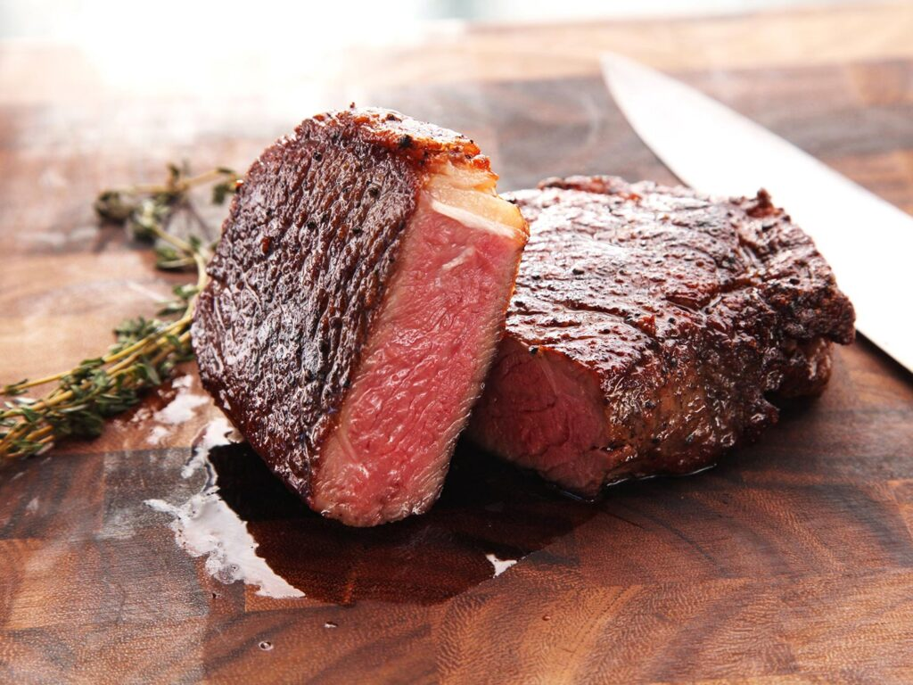carne dopo cottura a bassa temperatura